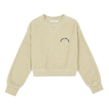 kids Hundred Pieces Run Velvet Sweatshirt