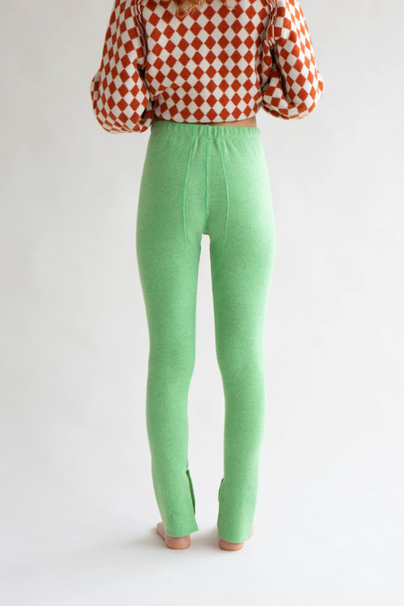 WOLF & GYPSY VINTAGE Standalone Long Johns - Lime