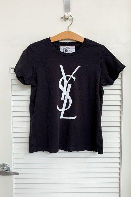 YMB Bootleg YSL Tee - Black