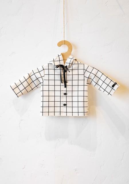 Kids Little Creative Factory Kid Plaid Jacket - Cream
