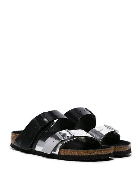 Rick Owens X Birkenstock Arizona Sandals - Black/Silver
