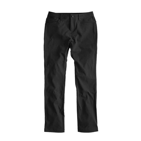 Western Rise AT Slim 5 POCKET JEAN STYLE Pant - Flat Black