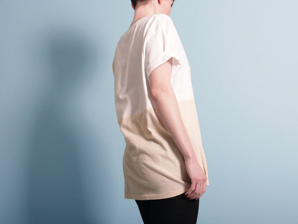 Correll Correll Ecke T-Shirt - Natural/White