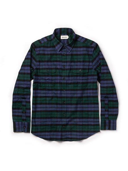 Taylor Stitch The Yosemite Shirt - Black Watch Plaid