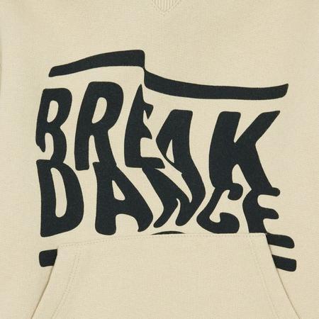 Kids Hundred Pieces Break Dance Hoodie - Chalk