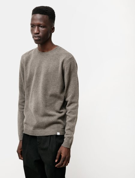 Norse Projects Sigfred Lambswool Sweater - Ivy Green