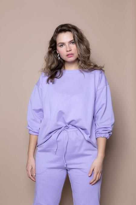 Soft Focus The Big Sweatshirt - Lilac