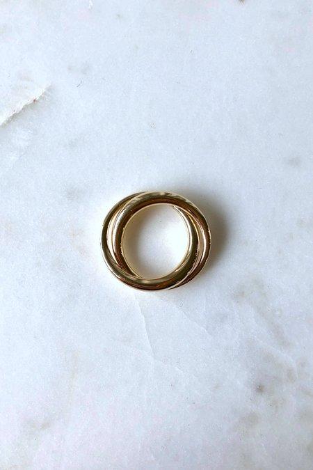 J. Hannah Gold Duo Form Ring - 14k Gold