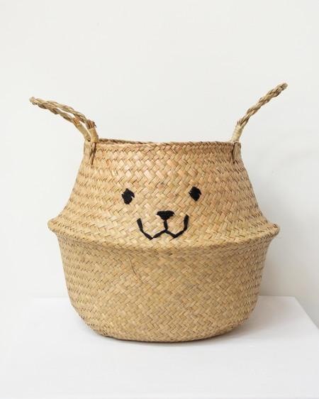 Wild Design Lab Embroidered Belly Basket