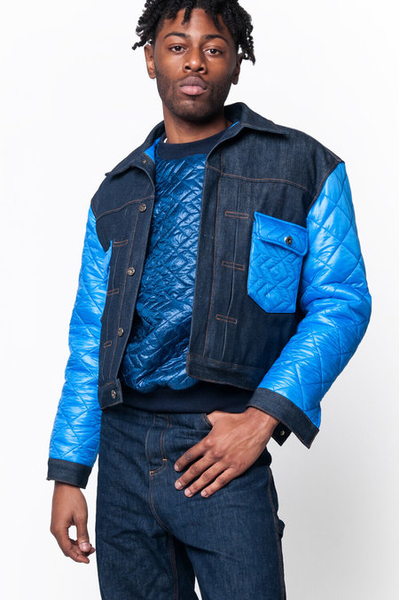 Unisex Monitaly Second Model Jacket - Indigo Denim