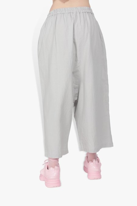 The Celect Lopsided Pant - Silver