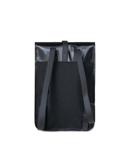 Rains Mochila Mini Backpack - Shiny Black