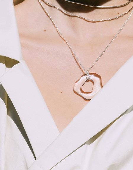 Cled High Tide Necklace - Sterling Silver