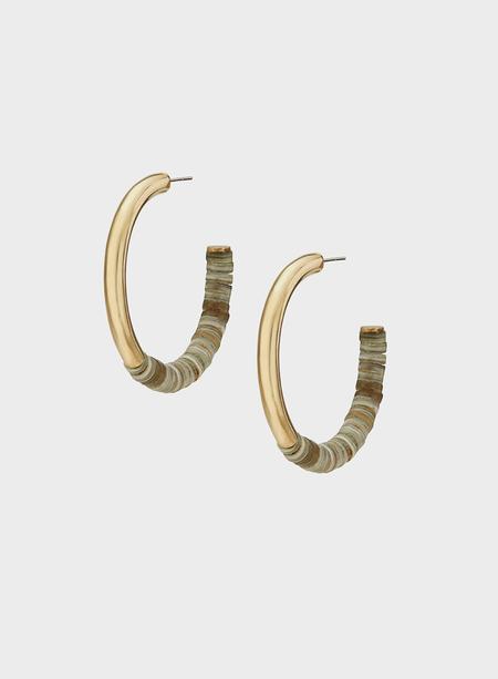 Soko Karamu Horn Hoop Earrings