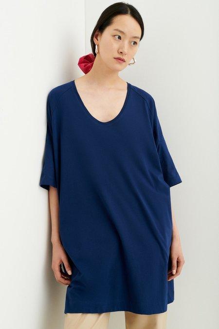 Kowtow Oversized T-Shirt Dress - Dark Blue