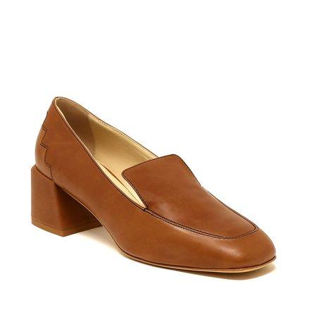 Sylven New York Marlene Leather Loafer - Cognac