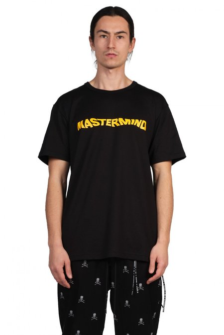 Mastermind World Smiley Skull T Shirt - Black
