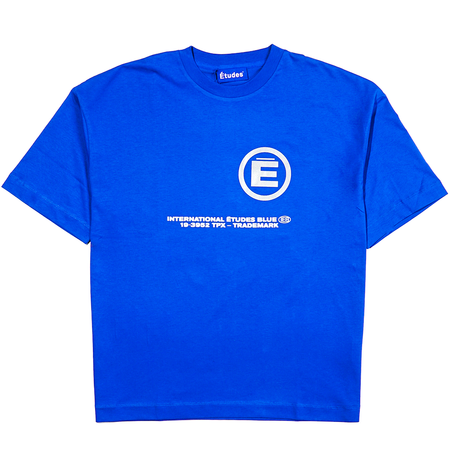 etudes Spirit Ieb T-SHIRT - BLUE