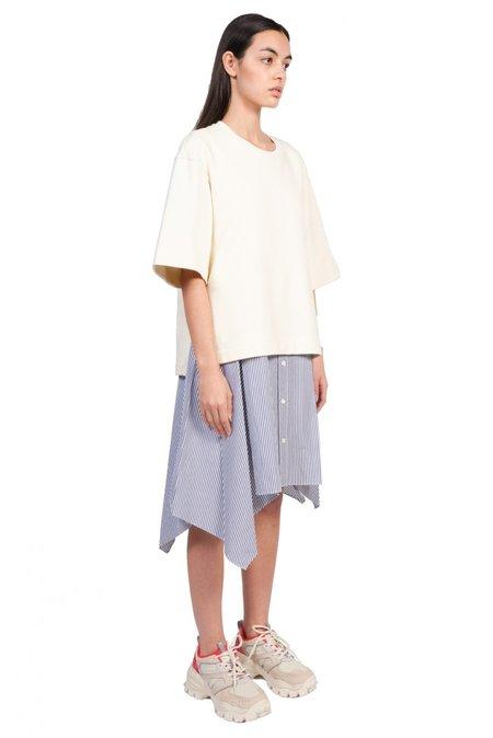 Juun.J Layered Asymmetric Dress - Ivory