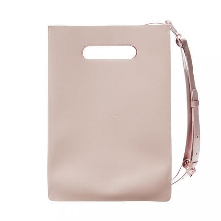 nana-nana Opaque A4 Bag - Light Pink
