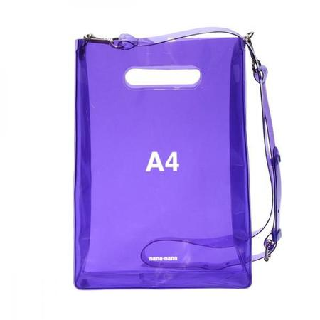 nana-nana A4 Bag - Purple