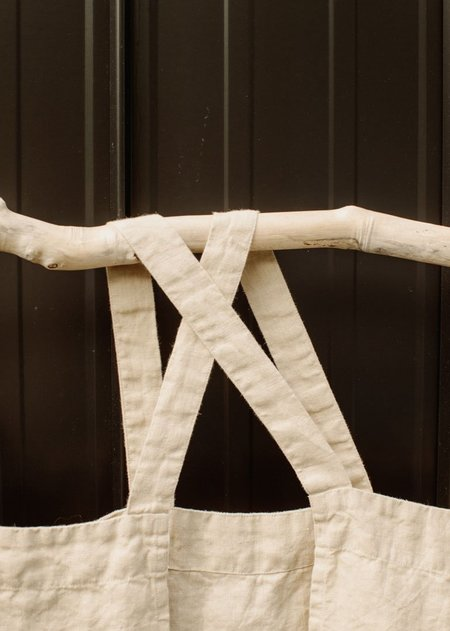 Magic Linen Japanese Cross Back Linen Apron