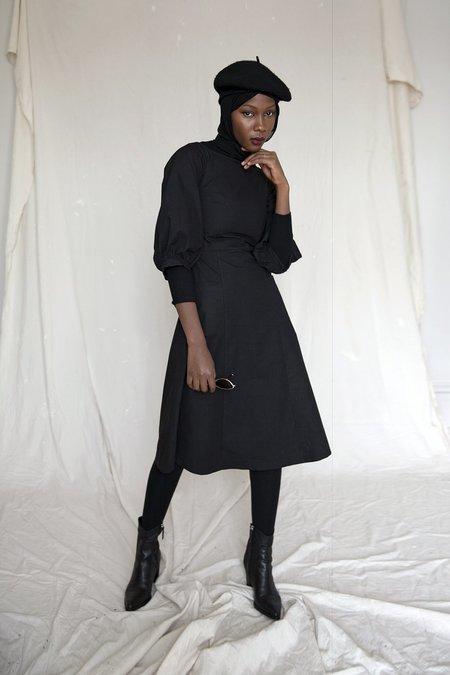 Ursa Minor Studio GRACE DRESS - BLACK