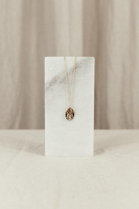 MIANSAI MINI SAINTS NECKLACE - 18K Yellow Gold/sterling silver