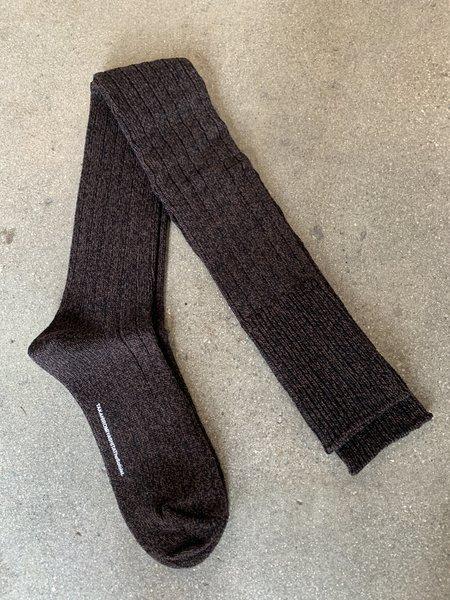 TAKAHIROMIYASHITA The Soloist. Super High Socks - Brown/Black