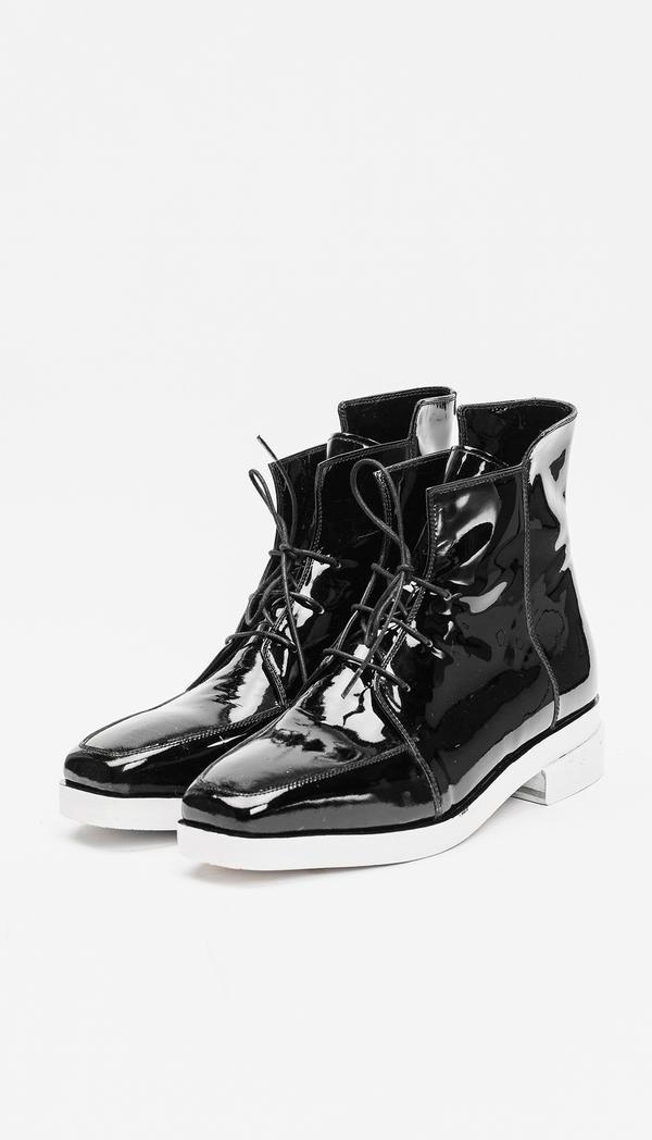 Berenik Shoes Leather / Prototype - Black Patent