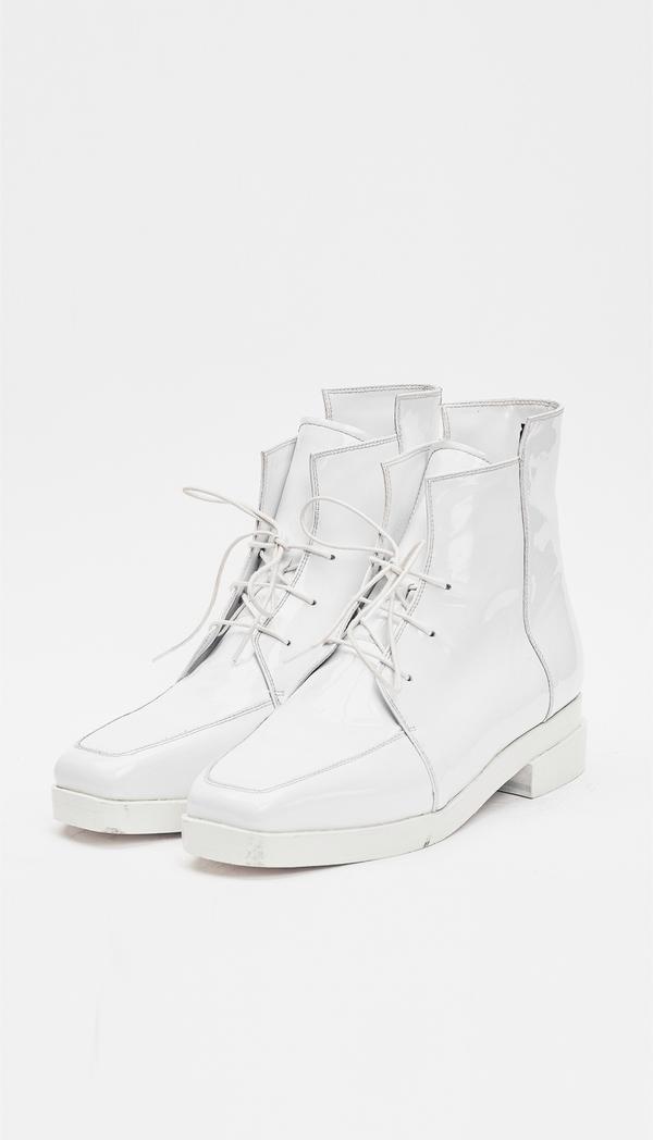 Berenik Shoes Leather / Prototype - White Patent
