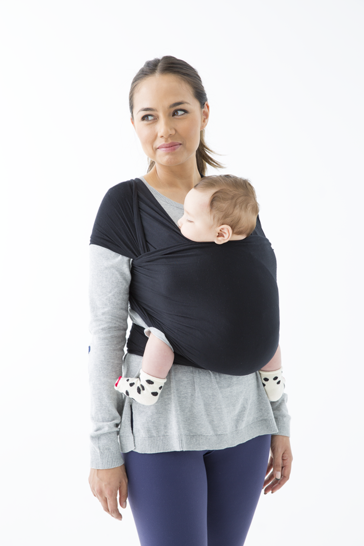 Solly Baby Wrap Black Garmentory