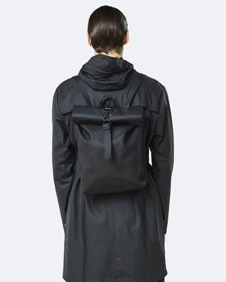 UNISEX Rains Rolltop Mini Bag - Black