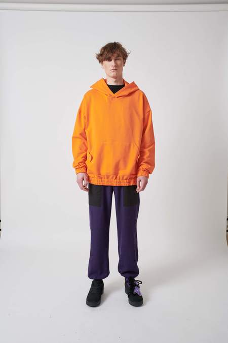 House of the Very Islands Trail Hood Sweater - Safety Orange