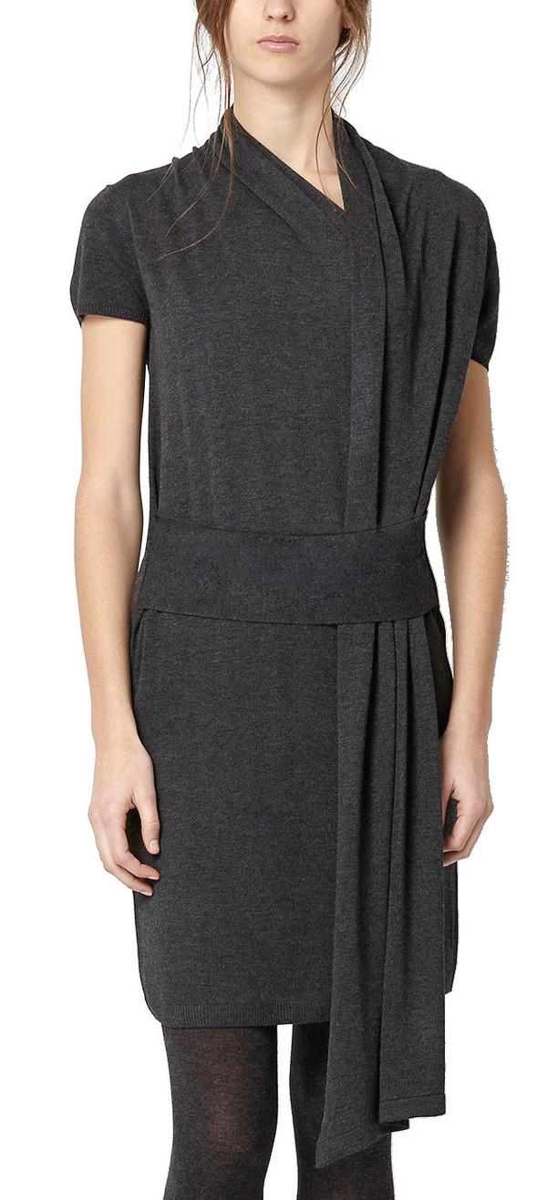 Hoss Intropia Asymmetrical Knit Dress