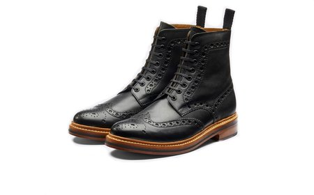 Grenson FRED BOOT - BLACK