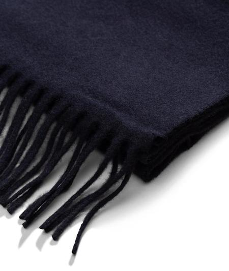 Norse Projects Lambswool Scarf - Dark Navy
