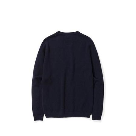 Norse Projects Sigfred Lambswool Sweater - Dark Navy