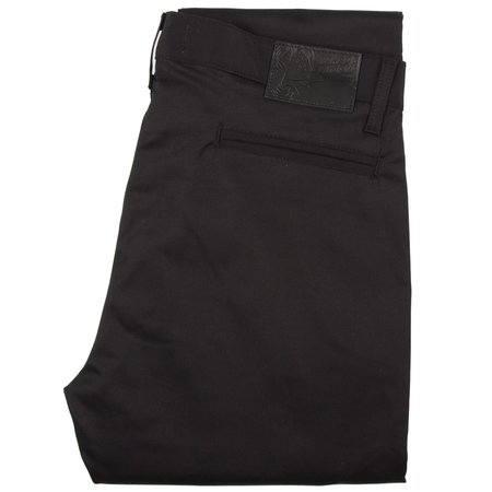 Naked & Famous SLIM CHINO - BLACK