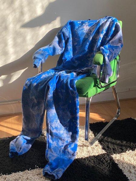 WOLF & GYPSY VINTAGE Tie Dye Sweatshirt - Cosmic Blue