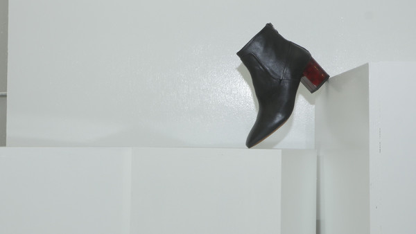 CROSSWALK SHOES POP UP OLYMPIC (3474) Black Leather
