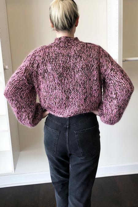 Maiami Melange Pullover - BonBon Pink Mix