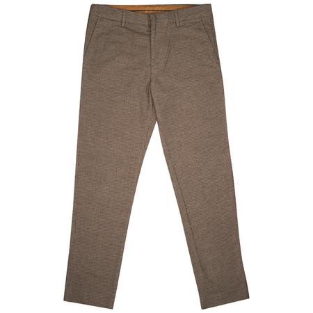 NN07 Cade Trouser - Brown Check