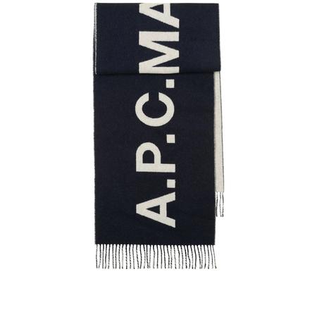 A.P.C. Echarpe Angele - Dark Navy
