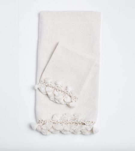 Matta NY Haveli Bath Towel - White
