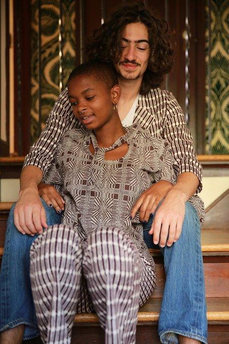 Erica Tanov charlie blouse - edgar allan poe