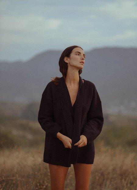 MILA ZOVKO Maria Cardigan - Black