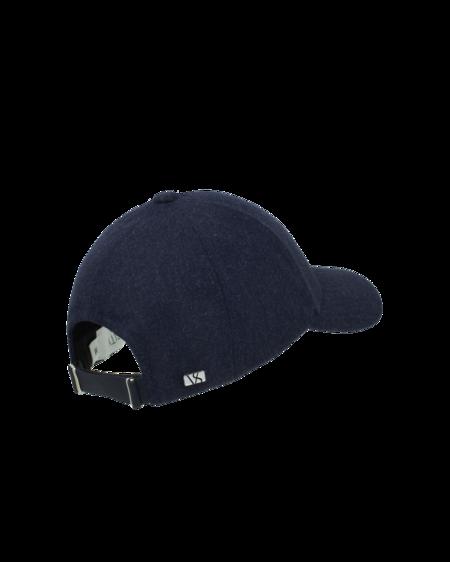 Varsity Headwear Wool Cap - Dark Navy
