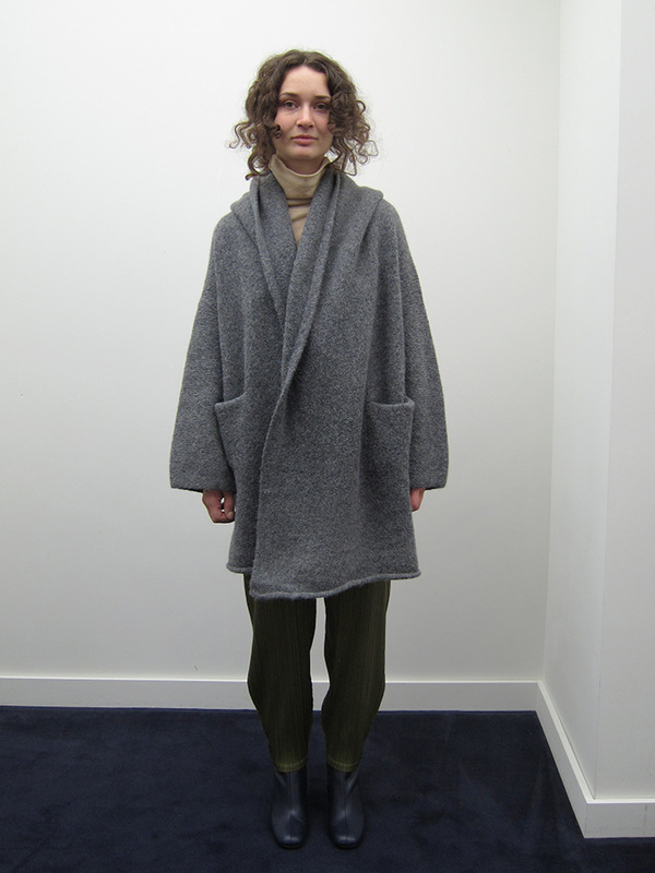 Lauren Manoogian Capote Coat, Charcoal