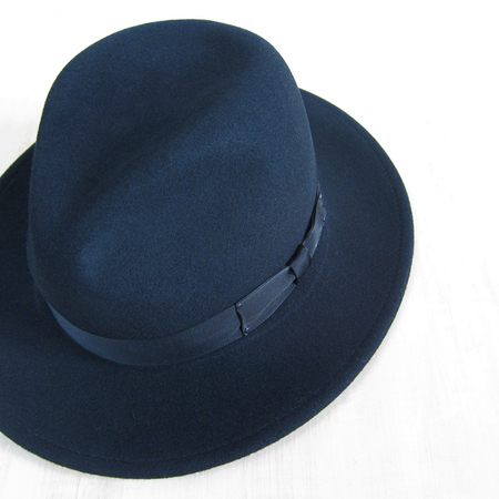 Bailey Hats Curtis Fedora - Black